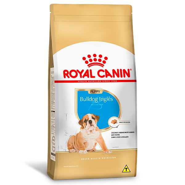 Ração Royal Canin Puppy para Cães Filhotes da Raça Bulldog Inglês 12Kg