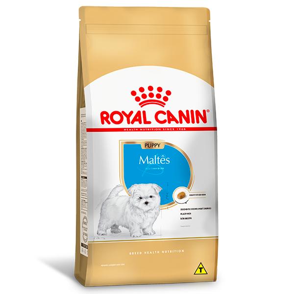 Ração Royal Canin Puppy para Cães Filhotes da Raça Maltês