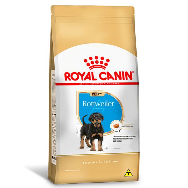 Ração Royal Canin Puppy para Cães Filhotes da Raça Rottweiler 12Kg
