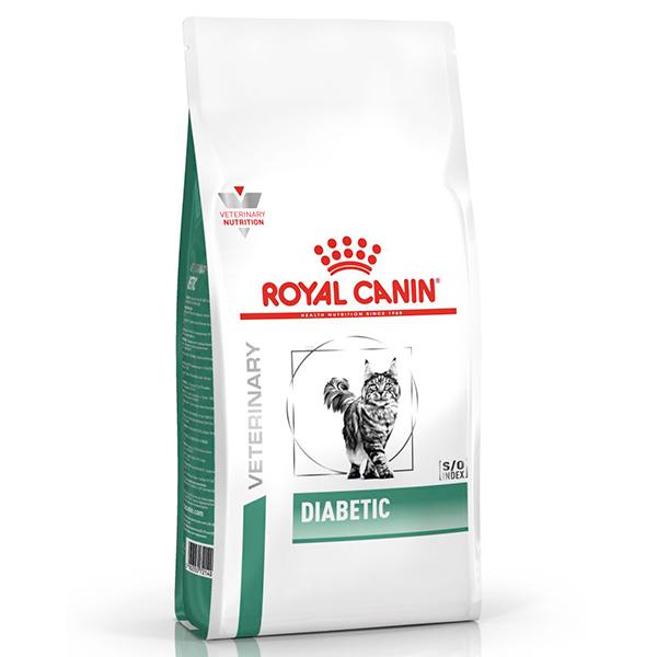 Ração Royal Canin Veterinary Nutrition Diabetic para Gatos Adultos com Diabetes
