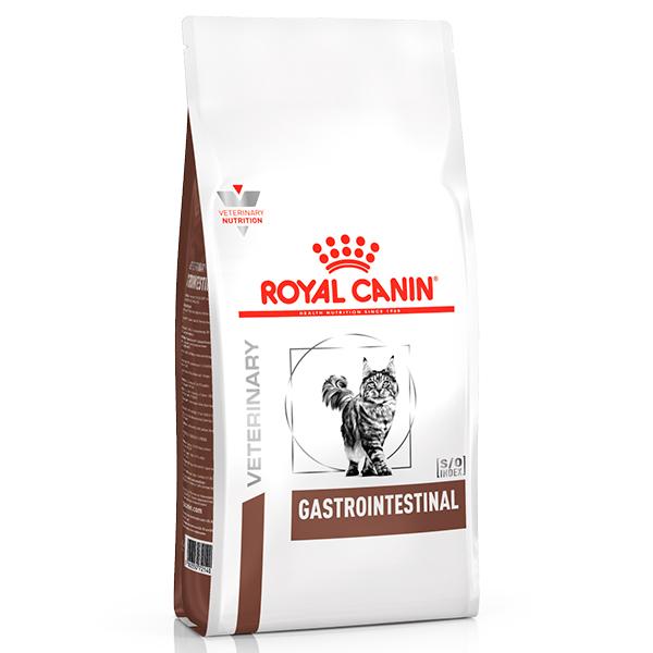 Ração Royal Canin Veterinary Nutrition Gastro Intestinal para Gatos com Distúrbios Gastrointestinais