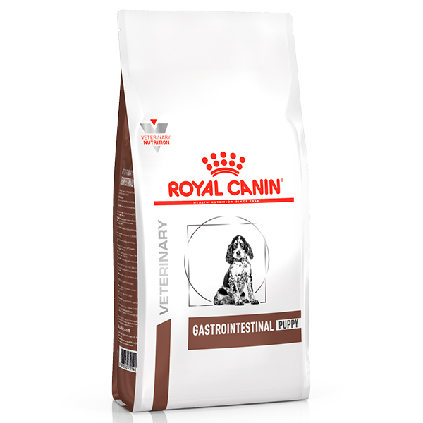 Ração Royal Canin Veterinary Nutrition Gastro Intestinal Puppy para Cães Filhotes com Disturbios Gastrointestinais 2Kg