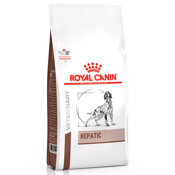 Ração Royal Canin Veterinary Nutrition Hepatic para Cães Adultos com Problemas Hepáticos