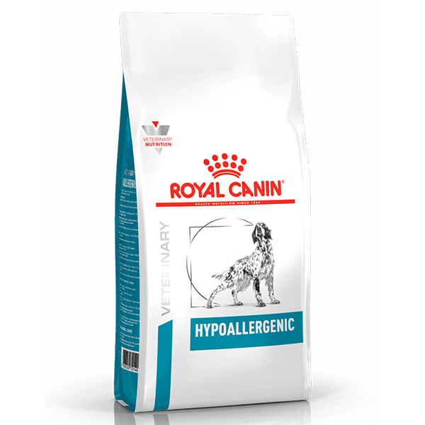 Ração Royal Canin Veterinary Nutrition Hypoallergenic para Cães Adultos com Alergias