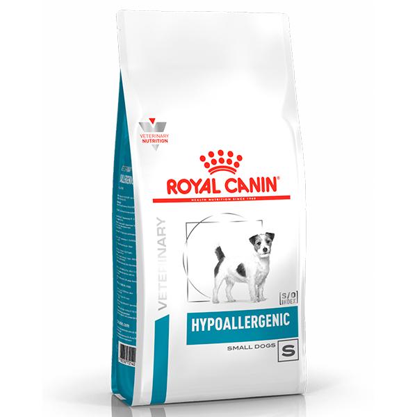 Ração Royal Canin Veterinary Nutrition Hypoallergenic Small Dog para Cães de Pequeno Porte com Alergias