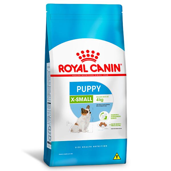Ração Royal Canin X-Small Puppy para Cães Filhotes de Porte Miniatura