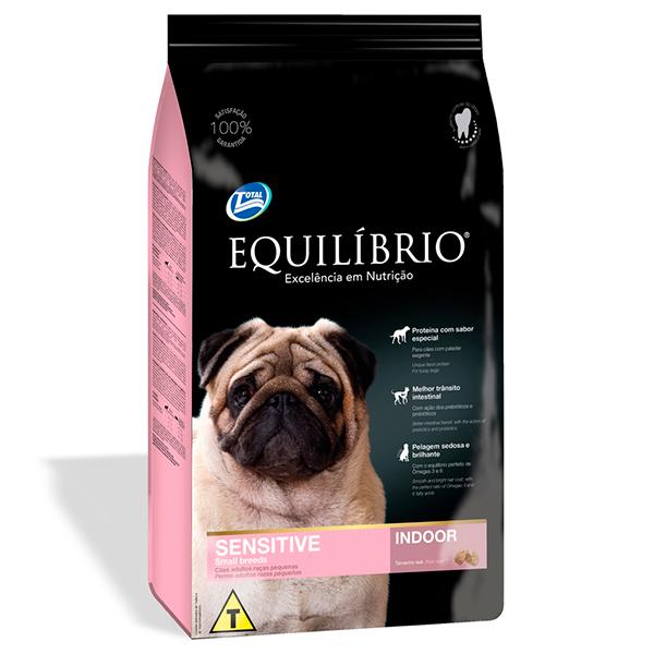 Ração Total Equilíbrio Sensitive para Cães Adultos de Raças Pequenas