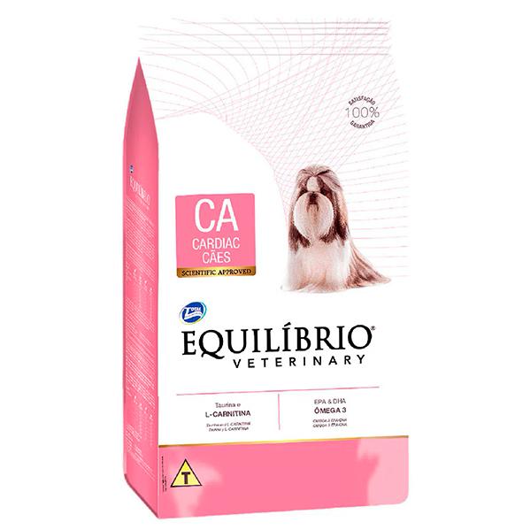 Ração Total Equilíbrio Veterinary Cardiac para Cães Adultos