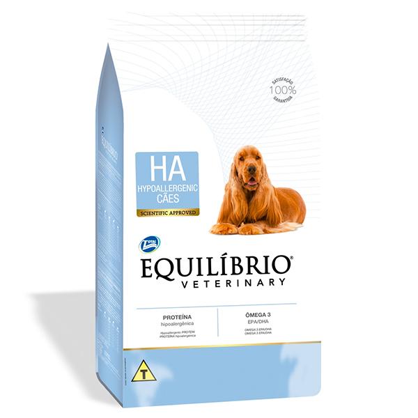 Ração Total Equilíbrio Veterinary Hypoallergenic para Cães Adultos
