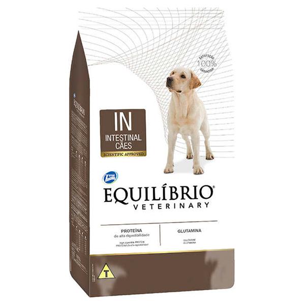 Ração Total Equilíbrio Veterinary Intestinal para Cães Adultos - 7,5Kg