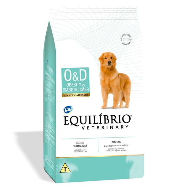 Ração Total Equilíbrio Veterinary Obesity & Diabetic para Cães Adultos