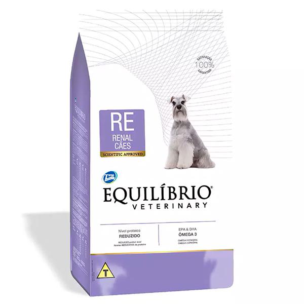 Ração Total Equilíbrio Veterinary Renal para Cães Adultos