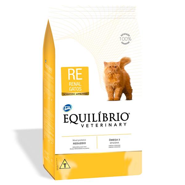 Ração Total Equilíbrio Veterinary Renal para Gatos Adultos - 2Kg