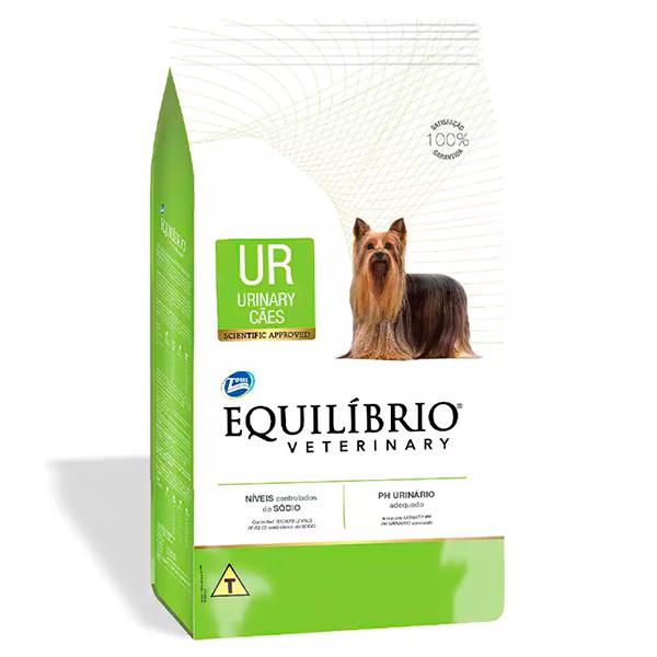 Ração Total Equilíbrio Veterinary Urinary para Cães Adultos