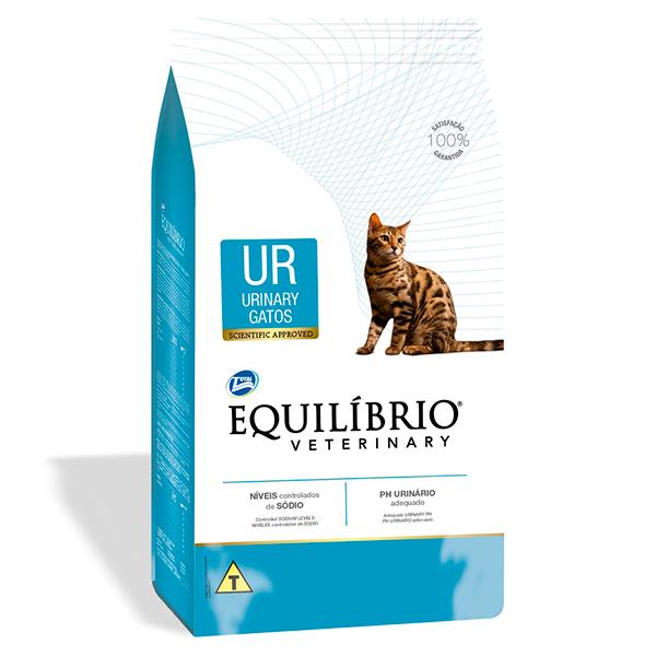 Ração Total Equilíbrio Veterinary Urinary para Gatos Adultos - 2Kg