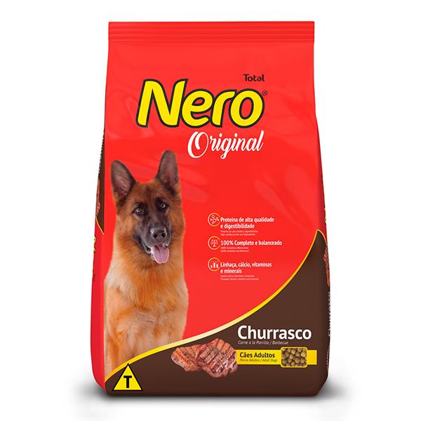 Ração Total Nero Original para Cães Adultos sabor Churrasco