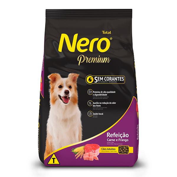 Ração Total Nero Premium Refeição Carne e Frango para Cães Adultos