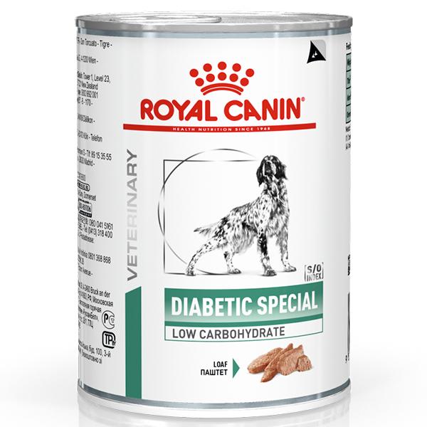 Ração Úmida Royal Canin Lata Veterinary Nutrition Diabetic Wet Para Cães com Diabetes 410g
