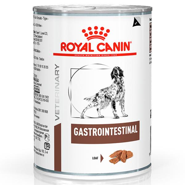 Ração Úmida Royal Canin Lata Veterinary Nutrition Gastro Intestinal Wet para Cães com Disturbios Gastrointestinais 400g