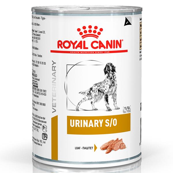 Ração Úmida Royal Canin Lata Veterinary Nutrition Urinary Wet S/O para Cães com Doenças Urinárias
