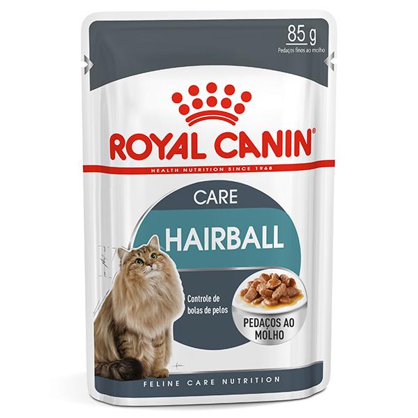 Ração Úmida Royal Canin Sachê Feline Hairball Care para Controle de Bolas de Pelo 85g