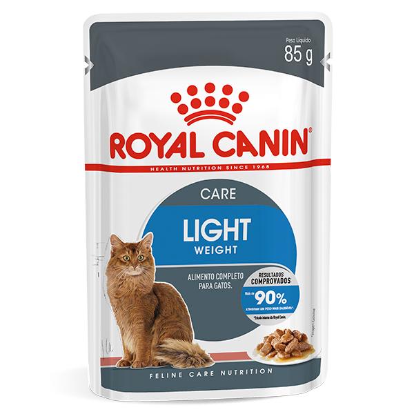 Ração Úmida Royal Canin Sachê Light Weight Care para Gatos 85g