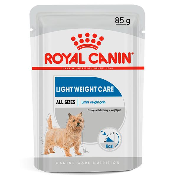 Ração Úmida Royal Canin Sachê Light Weight Care Wet para Cães 85g