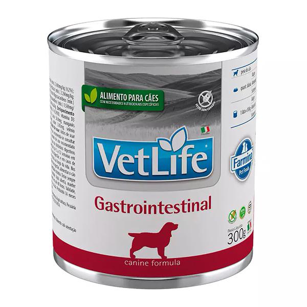 Ração Úmida Vet Life Lata Gastrointestinal para Cães 300g