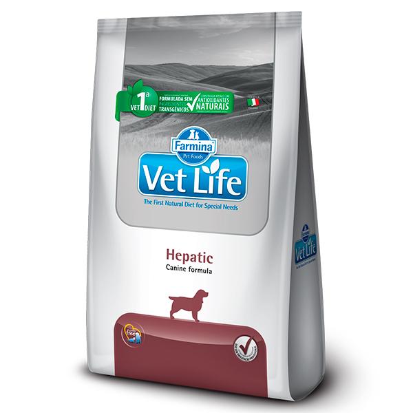 Ração Vet Life Hepatic para Cães