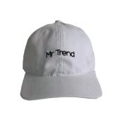 Boné Style Branco Mr Trend