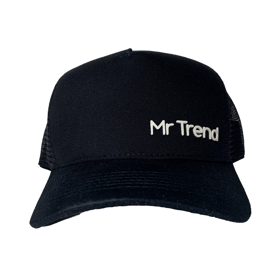 Boné Black Mr Trend