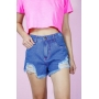 Short Summer Jeans Escuro