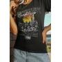 T-shirt Adventure Preto