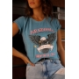 T-shirt Arizona Be Free Azul Petroleo