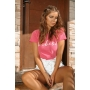 T-shirt Babes Fuchsia Rose