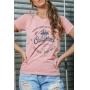 T-shirt California Bear Rose Canyon