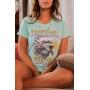 T-shirt Eagle Rock Ice Jade