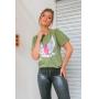 T-shirt Eternal Love Verde Oliva