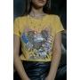 T-Shirt Free Soul Mostarda