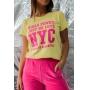 T-shirt Girls Power Nyc Vanilla
