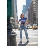 T-shirt Harlem Jazz Azul Navy