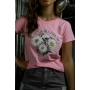 T-Shirt Here Come The Sun Rosa Mary