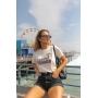 T-shirt Santa Monica Perola