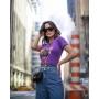 T-shirt Wild Side Panther Roxo Violeta
