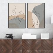 Quadros As Linhas do Amor, Abstrato