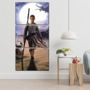 Star Wars Rey e BB8 - Mosaico Vertical