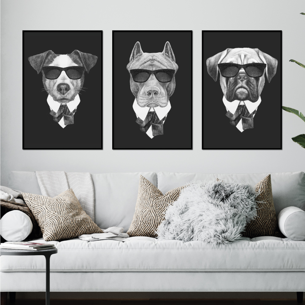 Composição Cachorros Mafiosos