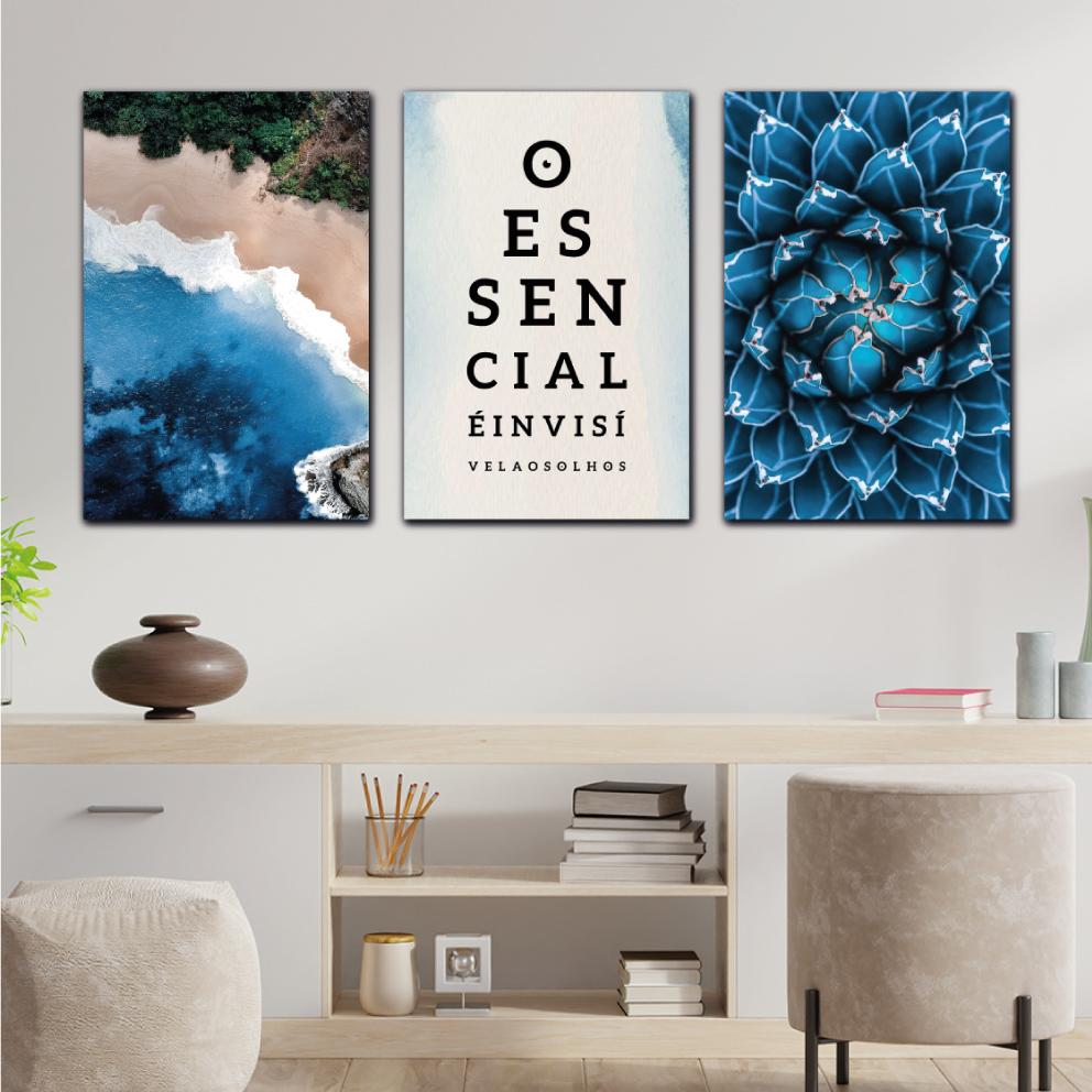 Composição Essencial Natureza Azul