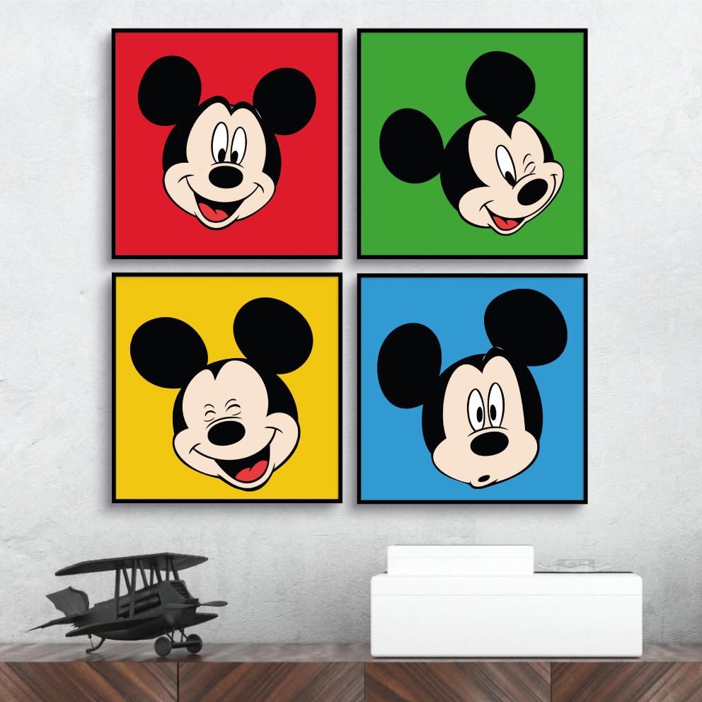 Conjunto Mickey Expressões