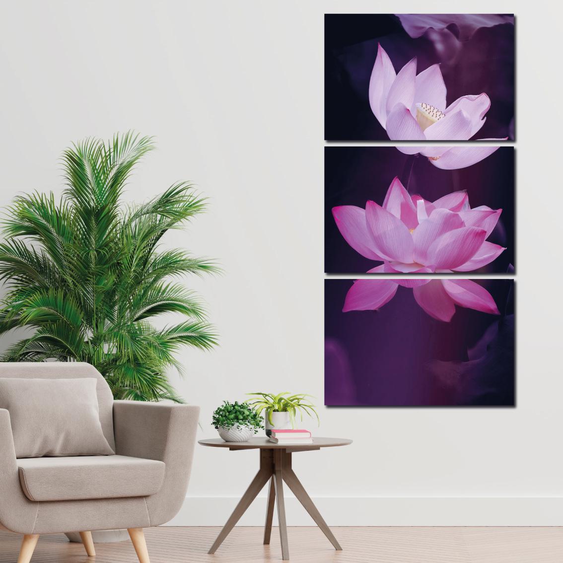 Flor de Lotus - Mosaico Vertical